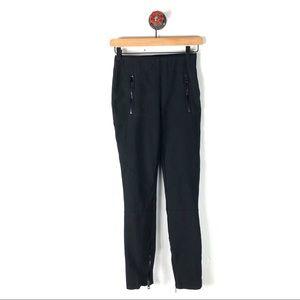 Rag & Bone 2 skinny pants ankle zipper moto croyd